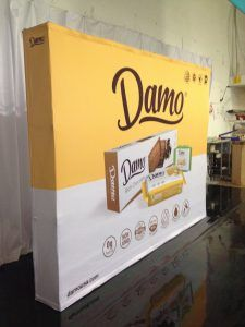 ExhibitDEAL Add Fabric Pop-Up Displays