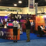 Miami Dade College 2016 event - Multiple double sided Pop Up Displays, SOLO Counters and Banners - 1