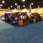 Miami Dade College 2016 event - Multiple double sided Pop Up Displays, SOLO Counters and Banners - 2