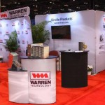 Warren Technologies - Multiple Tension Fabric Tube Displays with Header and SOLO Counters