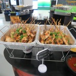 Chicken hors D'euvres by Chef Fab Culinary
