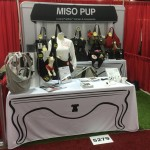 Miso Pup - 10ft Tension Fabric wall with table throw