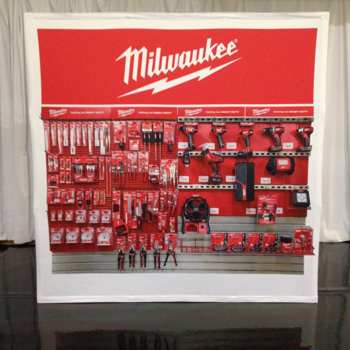13) Tension Fabric Displays