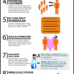 10 Tips for Increasing Trade Show ROI infographic