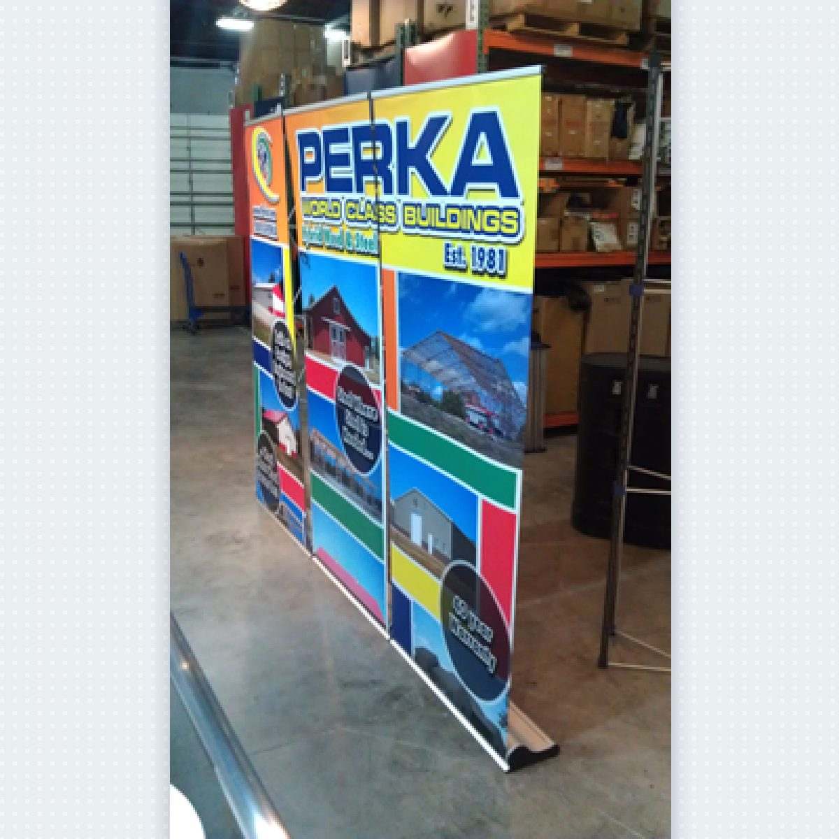 4) 10ft Retractable Banner Wall